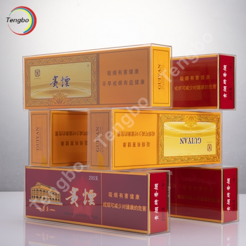 武汉亚克力烟类展示盒