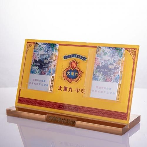 武汉亚克力香烟展示架