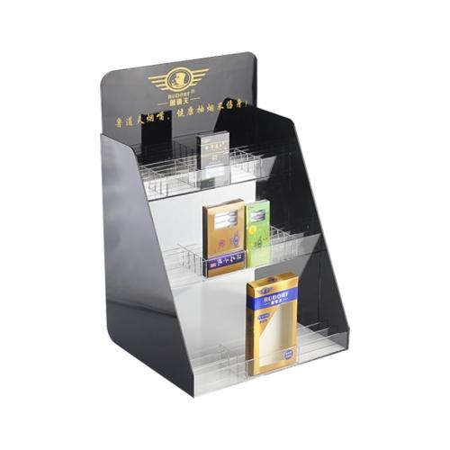 黑龙江梯形香烟展示架